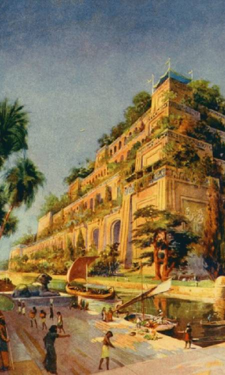 World Of Mystery The Hanging Gardens Of Babylon